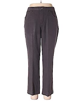 Denim & Co Khakis Size 16 (Petite)