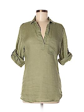Bella Dahl 3/4 Sleeve Button-Down Shirt Size S