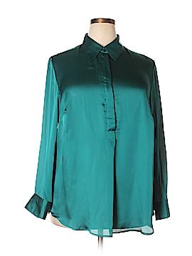 Jones New York Long Sleeve Blouse Size 2X (Plus)