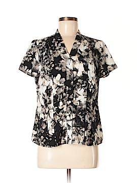 Croft & Barrow Short Sleeve Blouse Size M (Petite)