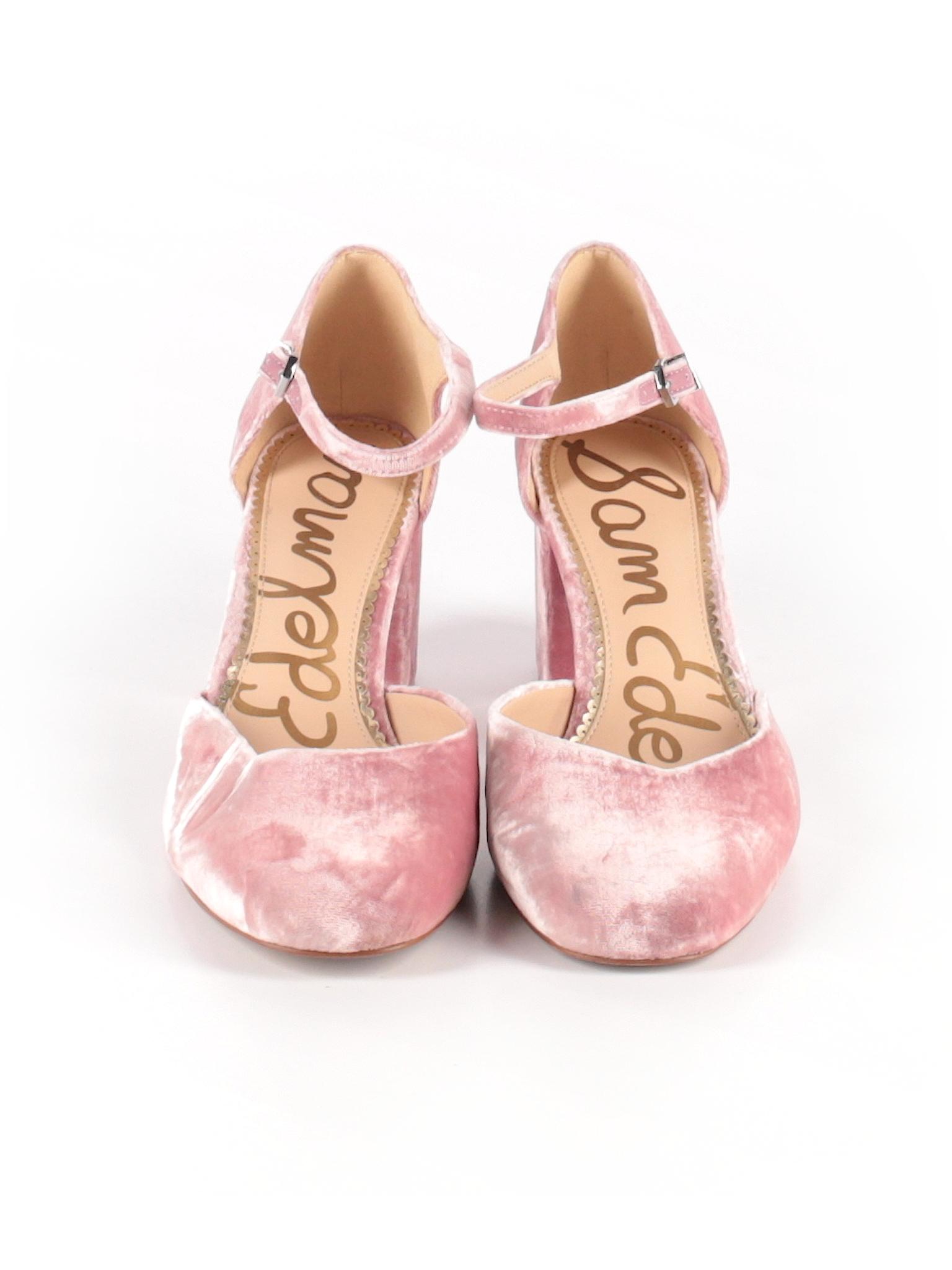 0b5dd9310 Sam Edelman Solid Light Pink Heels Size 11 - 63% off