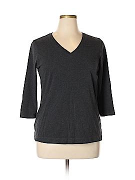 Eddie Bauer 3/4 Sleeve T-Shirt Size XL