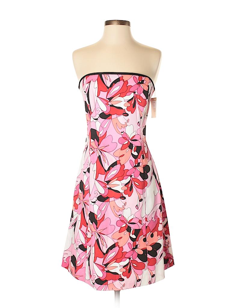 5e8301a0e3b Robin Jordan Floral Pink Casual Dress Size 4 - 73% off   thredUP
