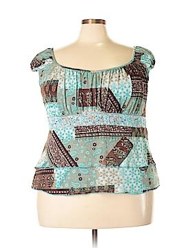 Venezia Short Sleeve Blouse Size 28 (Plus)