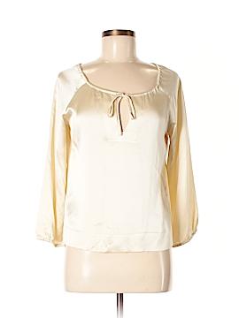 Nili Lotan Long Sleeve Blouse Size M