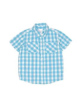 Toughskins Short Sleeve Button-Down Shirt Size 4T