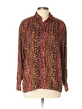 Escada by Margaretha Ley Long Sleeve Silk Top Size 42 (EU)
