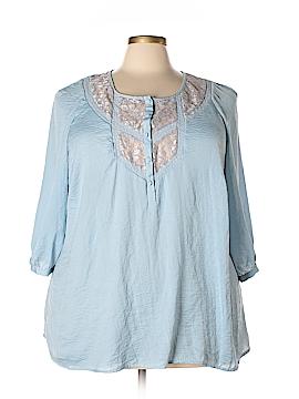 Avenue Short Sleeve Blouse Size 26 - 28 Plus (Plus)