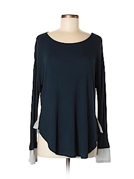 Bordeaux Long Sleeve Top Size M