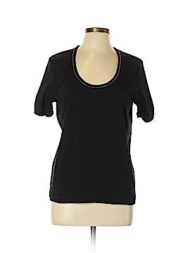 Joan Vass Short Sleeve T-Shirt Size 10 (2)