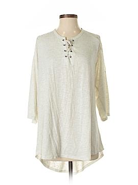 Torrid 3/4 Sleeve Blouse Size 4 (Plus)