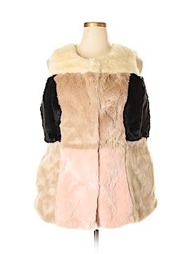 Lane Bryant Faux Fur Vest Size 18 - 20 Plus (Plus)