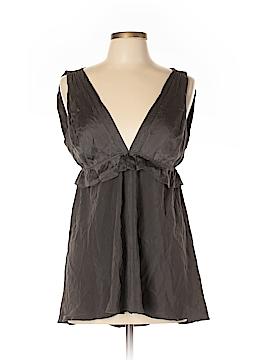 Rozae Nichols Sleeveless Silk Top Size L