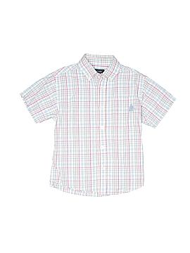 IZOD Short Sleeve Button-Down Shirt Size 7