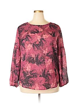 Ava & Viv Long Sleeve Blouse Size 1X (Plus)