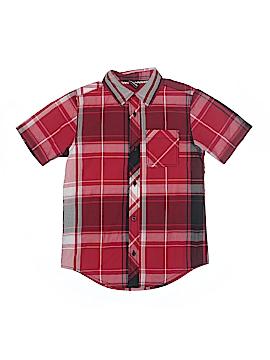 Tony Hawk Short Sleeve Button-Down Shirt Size M (Kids)