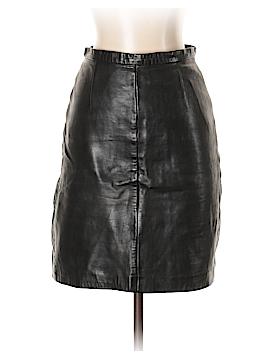 Michael Hoban Leather Skirt Size 6