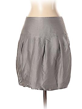 Pink Tartan Silk Skirt Size 4