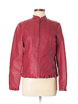 Baccini Faux Fur Jacket Size M