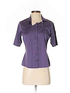 Jamie Sadock Short Sleeve Button-Down Shirt Size XS