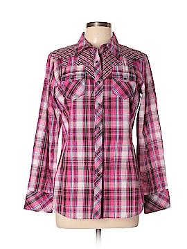 Ariat Long Sleeve Button-Down Shirt Size M