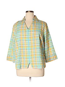 Cj Banks 3/4 Sleeve Blouse Size 1X (Plus)