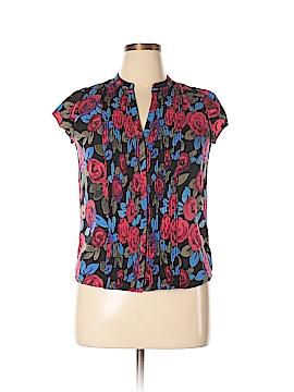Maison Jules Short Sleeve Blouse Size L