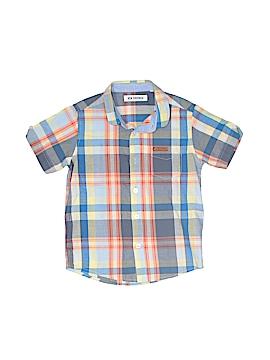 Ben Sherman Short Sleeve Button-Down Shirt Size 4 - 5
