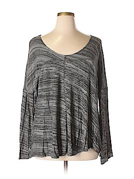 Cynthia Rowley for Marshalls Long Sleeve Top Size XL