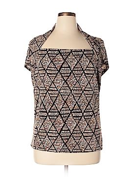 Rafaella Studio Short Sleeve Top Size XL