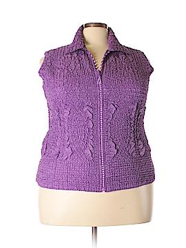 Jerry T Vest Size 1X (Plus)