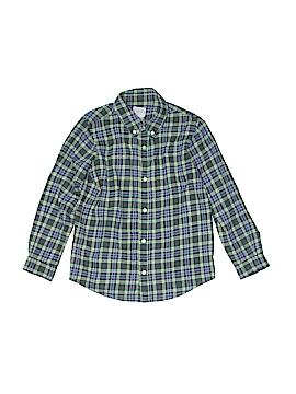 Talbots Kids Long Sleeve Button-Down Shirt Size 7