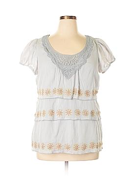 Floreat Short Sleeve Blouse Size 14