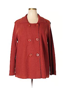 89th & Madison Wool Coat Size 3X (Plus)