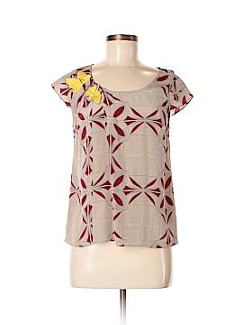Floreat Short Sleeve Silk Top Size 2