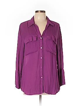 Bella Dahl Long Sleeve Blouse Size L