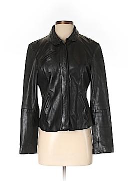 DKNY Faux Leather Jacket Size XS
