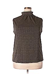 August Max Woman Women Sleeveless Top Size 2X (Plus)