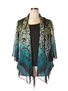Sara Michelle Long Sleeve Blouse Size 2X (Plus)