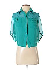 Very J Women Short Sleeve Blouse Size S