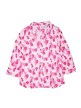 Quizz Woman 3/4 Sleeve Button-Down Shirt Size 18/20 (Plus)