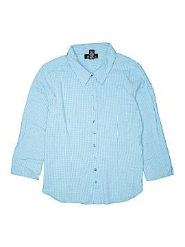 Denim Co Long Sleeve Button-Down Shirt Size XL