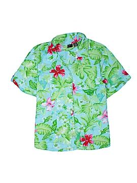 Erika Short Sleeve Button-Down Shirt Size 2X (Plus)
