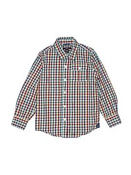 Gap Kids Outlet Long Sleeve Button-Down Shirt Size 6