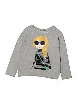 Butterflies & Zebras Sweatshirt Size M (Kids)