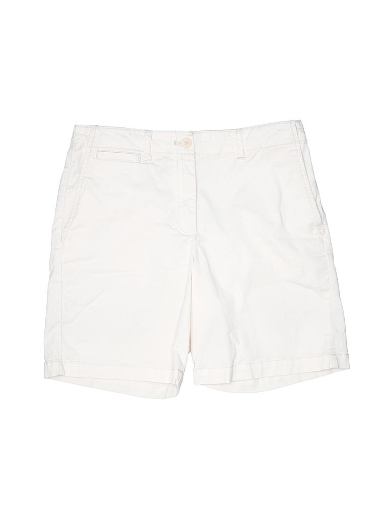 French Connection Women Khaki Shorts Size 6