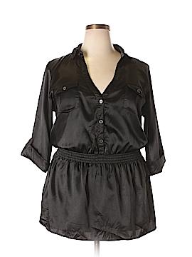 L8ter 3/4 Sleeve Blouse Size 2X (Plus)