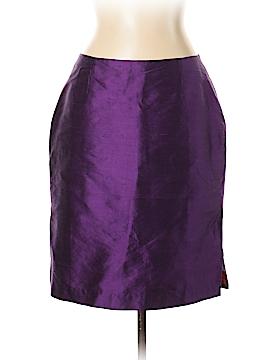 Moda International Silk Skirt Size 12