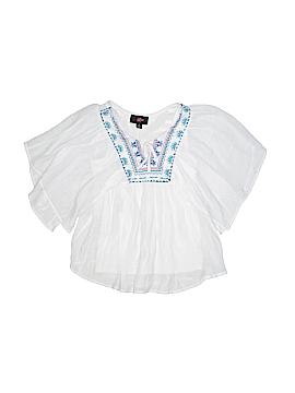 Iz Byer Short Sleeve Blouse Size 7 - 8