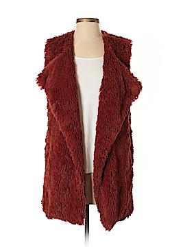 Wild Pearl Faux Fur Vest Size XS